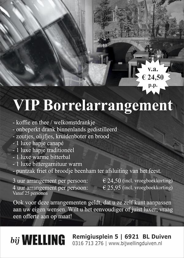 VIP Borrelarrangement