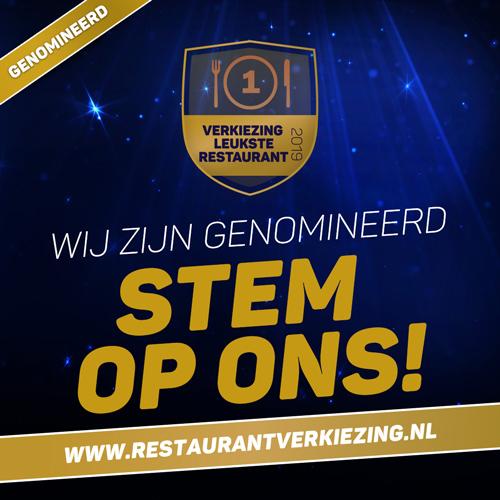 Genomineerd leukste restaurant Nederland